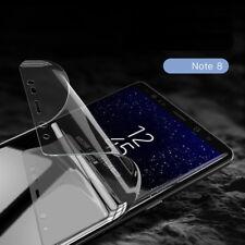 Completo curvo ajuste 5 X Protector de Pantalla + Película posterior 5 X para Samsung Galaxy Note 8