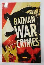 Batman - WAR CRIMES - Graphic Novel TPB - DC