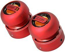 Duo portable mini haut-parleurs jack 3.5mm clair et net sound tous smartphones