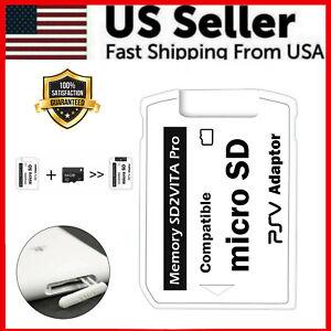 V7.0 SD2VITA Micro SD Support TF Memory Card 32GB 64GB 128GB 256GB For PSVita