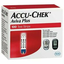 Accu-Chek Aviva Plus Test Strips 100 Ct Exp 10/31/20