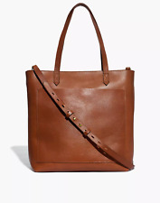 Madewell The Zip-Top Medium Transport Tote NEW & FREE SHIPPING