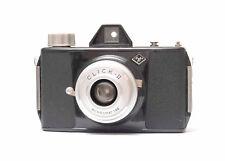 Agfa Click II Bakelit Box-Kamera 6x6 cm + Bereitschaftstasche Nr.818