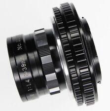 Zunow 38mm f1.4 micro 4/3 mount  #6030101