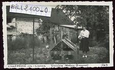 Villeneuve-la-Lionne ( Marne )  Maison Briquet . Juin 1945