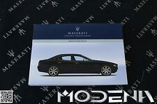 Betriebsanleitung Handbuch Bordbuch Owners Manual Book Maserati QP DuoSelect 06