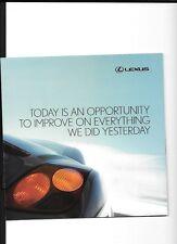LEXUS RANGE -  LS 430, RX400h PLUS IS AND GS SERIES SALES BROCHURE FOR  2006