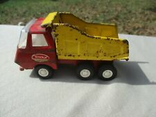"Vintage Tonka Small Dump Truck Pressed Steel 5"" descent Condition"