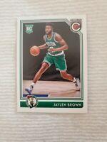 2016-2017 Panini Complete Basketball Jaylen Brown Rookie Card.