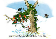 Funny horse fox hunting Christmas cards pack of 10 by Christopher Hope C388x