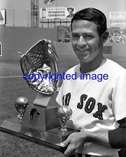 Luis Aparicio Red Sox 1971-73 Gold Glove Fenway Park HOF'er 1984  B+W 8x10 C