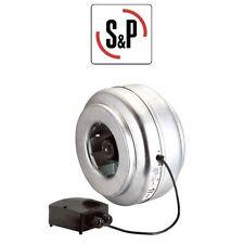 Soler und Palau Rohrventilator Vent 160 L Rohr Lüfter Gebläse  160 mm 760 m³/h