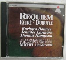 Requiem Faure Burufle Ambrosian Singers Teldec 4509 90879-2 IMPORT CD