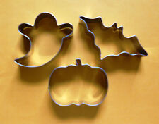 """3"""" Halloween party baking biscuit cookie cutter mold  3pcs/set"""