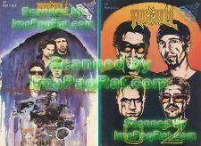 U2 Bono Complete 2 Part Rock Comic Nm 1st Print Vhtf!