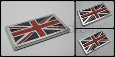BMW MINI CLASSIC CAR VW CAMPER UNION JACK FLAG CHROME 3D BADGE EMBLEM ENGLAND