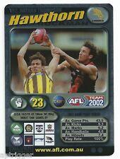 2002 Teamcoach Silver (192) Nathan THOMPSON Hawthorn