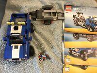 BUILT LEGO Creator Off-Road Power (5893) Very Nice! 1000+ Pieces (NO BOX)