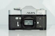 ALPA Reflex 11 EL camera body SLR 35mm chrome Swiss Camera 11EL