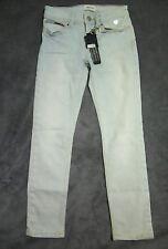 "NEW! Girls TOMMY HILFIGER blue jeans skinny slim leg 8 designer stretch ""Suzzy"""
