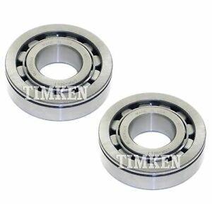 Pair Set of 2 Rear Timken Wheel Bearings for Chevy Blazer GMC Jimmy 1999 4WD