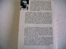 régionalisme CEVENNES LANGUEDOC résistance 2e guerre mondiale 1985