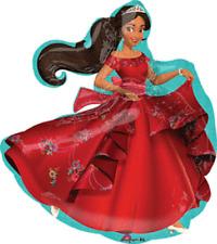 Latino Princess Elena of Avalor Foil Balloon Birthday Party Decorations Supplies