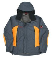 Mens Mammut Gore-Tex Paclite Jacket Hooded Grey Windproof Outdoor Size S