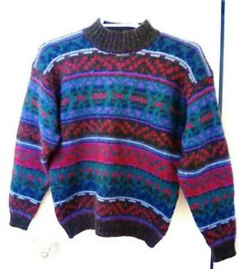 VIntage WOOLRICH Hong Kong Wool Sweater Womens Small Medium