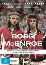 Borg Vs McEnroe (DVD, 2018)