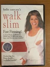 Leslie Sansone walk slim fast firming slim arms, legs Firm Band included New
