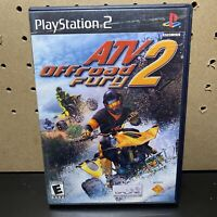 ATV Offroad Fury 2 Playstation 2 PS2 Video Game Complete W/ Manual - Free Ship!