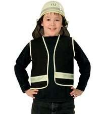 Spielweste Feuerwehrmann 104 116 128 140 schwarz Feuerwehr Weste 12155213