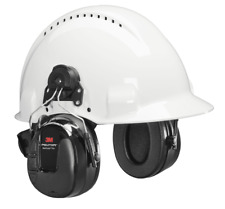 3M PELTOR PROTAC III HEADSET 3.5mm Stereo Input BLACK *USA Brand