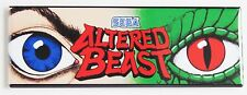 Altered Beast Marquee FRIDGE MAGNET (1.5 x 4.5 inches) arcade video game header