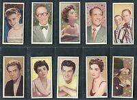"BARBERS TEA 1955 ""CINEMA & TELEVISION STARS"" TEA CARDS. - PICK YOUR CARD"