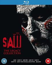 Saw The Legacy Collection 1 2 3 4 5 6 7 8 Region B Blu-ray