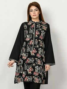 Limelight Embroidered front lawn kurta stylized new style size s,m,L