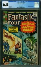Fantastic Four #23 CGC 6.5 -- 1964 -- Doctor Doom. Kirby cover. #2027757016
