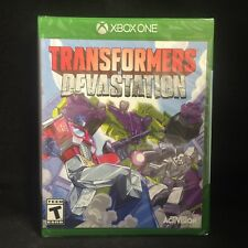 Transformers Devastation (Microsoft Xbox One) BRAND NEW