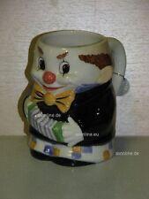 +# A000734_01 Goebel Archiv Malmuster Bierkrug Krug Clown Harlekin 74-011 Plombe