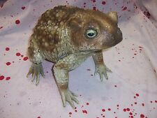 Jumbo Foam Filled Toad Frog Halloween Prop Decoration Witch  New