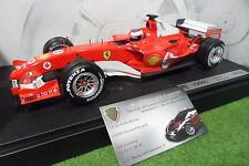 F1 FERRARI F2005 BARRICHELLO #2 1/18 HOT WHEELS G9728 voiture miniatur formule 1
