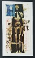 "Robert Rauschenberg ""Booster""  Mounted Color offset Lithograph  1973"