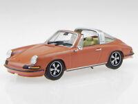 Porsche 911 Targa orange 1973 diecast modelcar Atlas 1:43