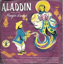 Vintage 45 record aladdin and his magic lamp children dandy philharmonic london