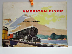 Vintage - AMERICAN FLYER Catalog - Made by GILBERT - NEW HAVEN, CONN. 1956