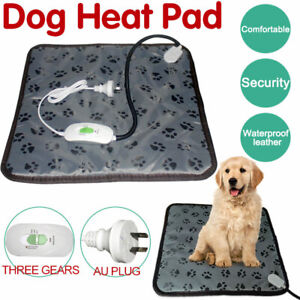Pet Electric Heat Heated Heating Heater  Pad Mat Blanket Bed Dog Cat Bunny AU