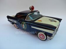 POLICE CAR OLDSMOBILE macchinina giocattolo tin toy car Japan ORIGINAL VINTAGE