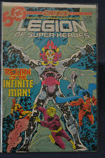 Legion of Super-Heroes issue 18 from DC Comics Crisis on Infinite Earths tie-in